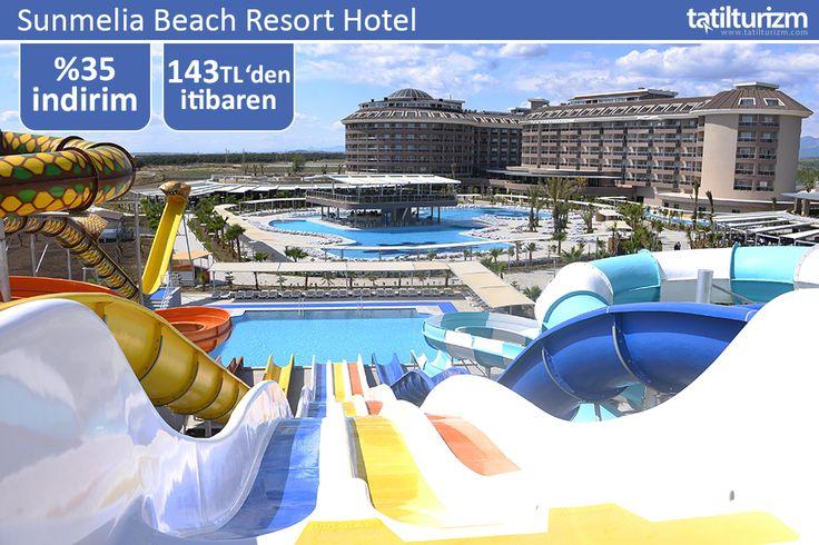 Sunmelia Beach Resort Hotel'de 0-12 yaş bir çocuk ücretsiz, ayrıca peşin fiyatına 9 Taksit imkanıyla tatilin tadını doyasıya çıkarın.