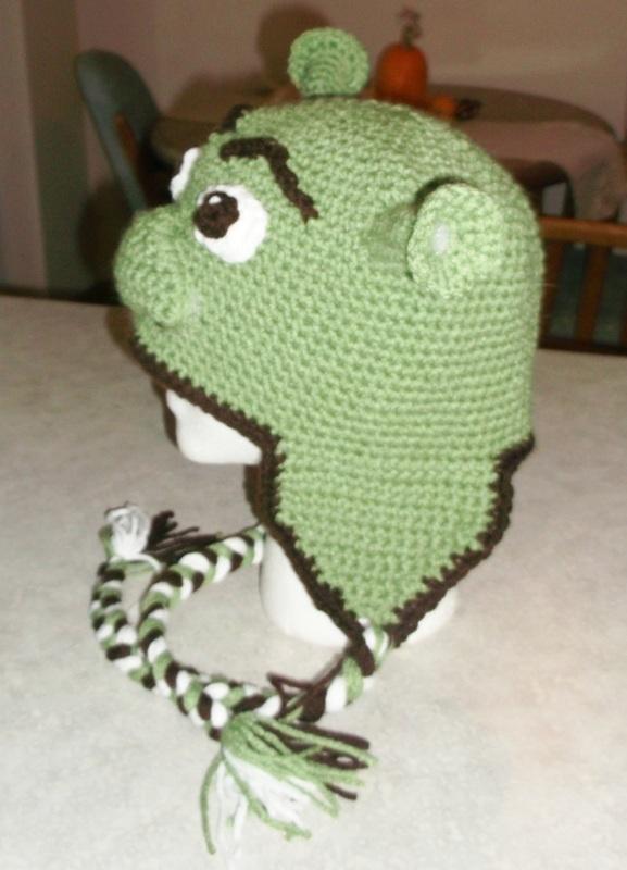 Cool Hat For Kids Inspired By Shrek Crochet Pinterest