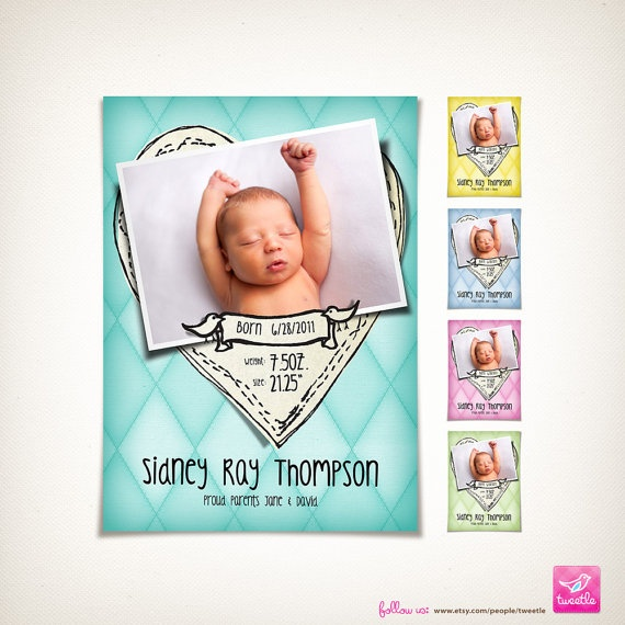 87 best Birth Announcements images – Birth Announcement Ideas