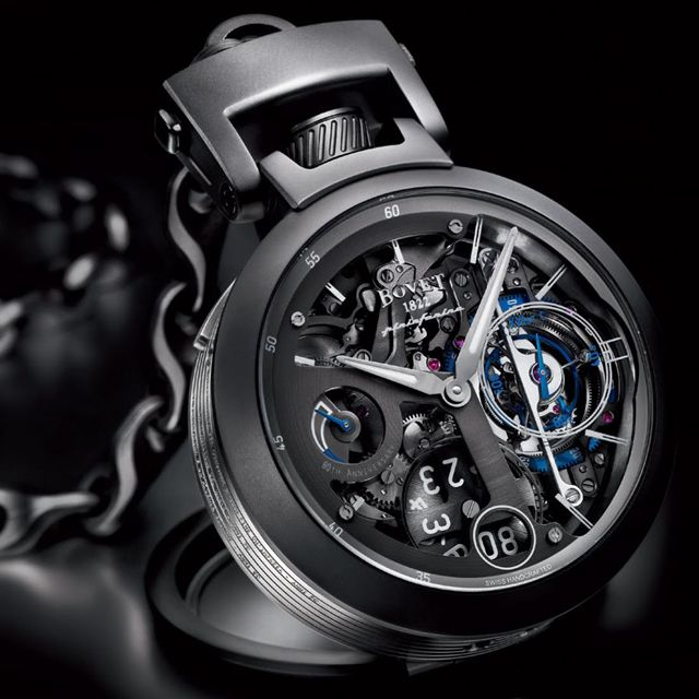 beautiful pocket watch from Bovet