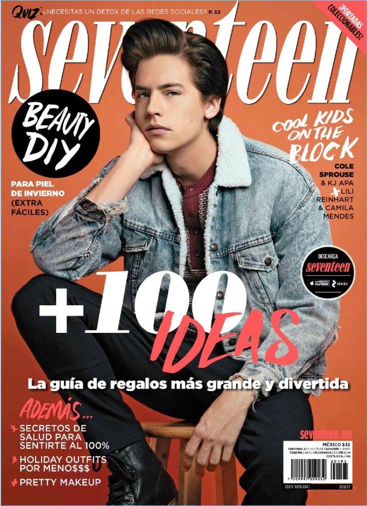 Cole Sprouse Seventeen México November 2017 Cover