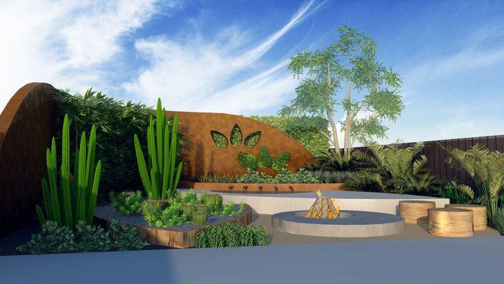 Easton Eco HQ Concept - The Logo Garden eastonecoscapes.com.au