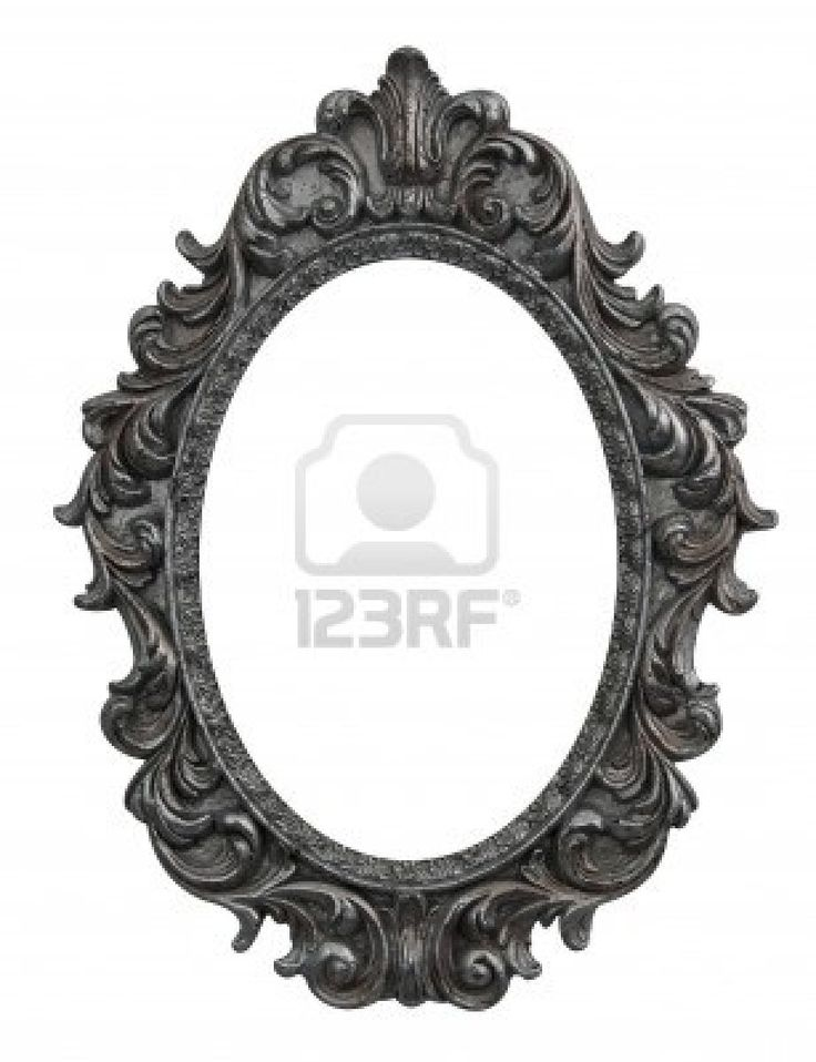 Oval Victorian Frames Tattoo