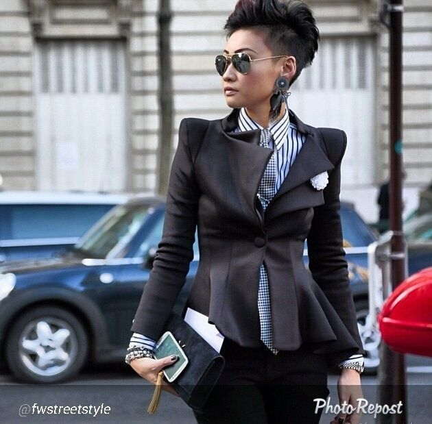 Esther Quek | Paris fashion week | 2014