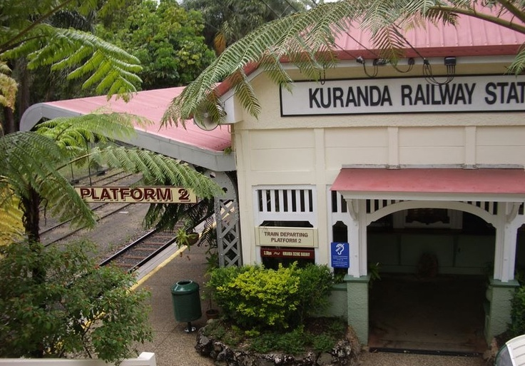Kuranda Railway Station, above Cairns Queensland. Australia
