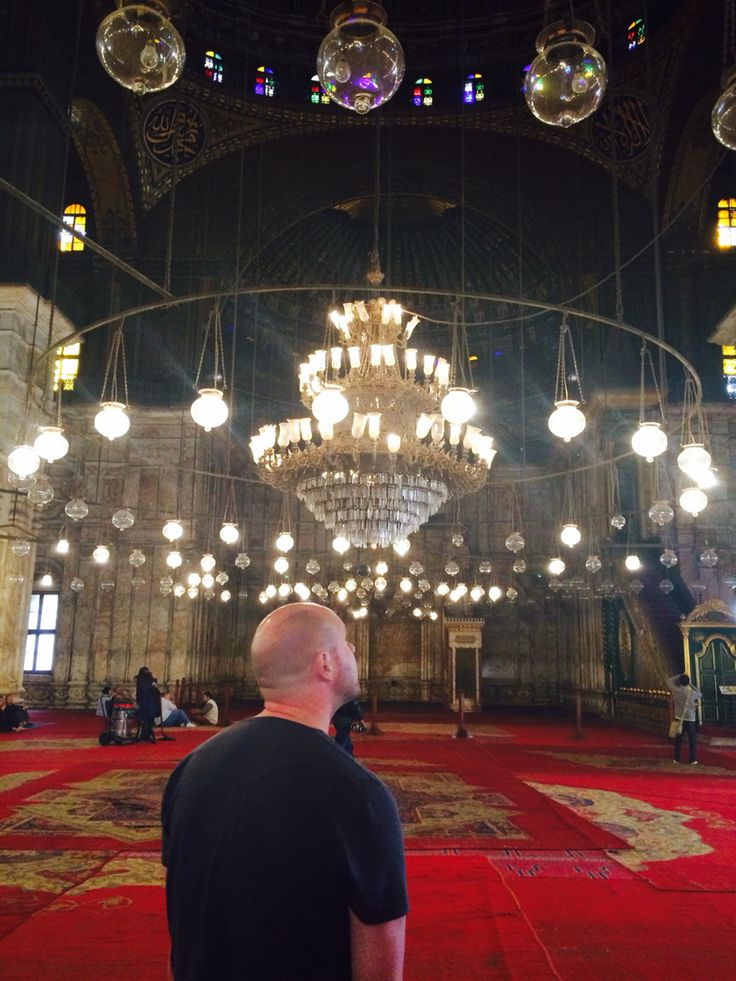 Stunning Mosque in Cairo!!