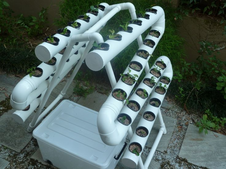 A Frame 50 Vertical Gardening Systems Aquaponics System