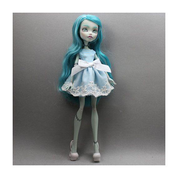 Monster High - fatti a mano vestito abito ooak personalizzato