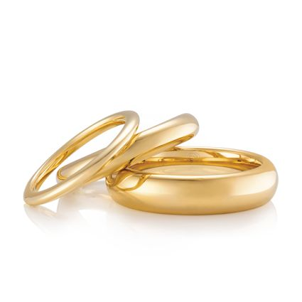 #AustralianMade #Wedding Rings! Bellini - Available in many different metal options and lots of different widths.