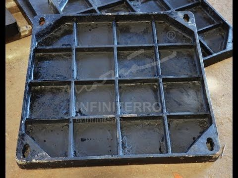 Recessed Manhole Cover Cast Iron - Maria Infiniferro