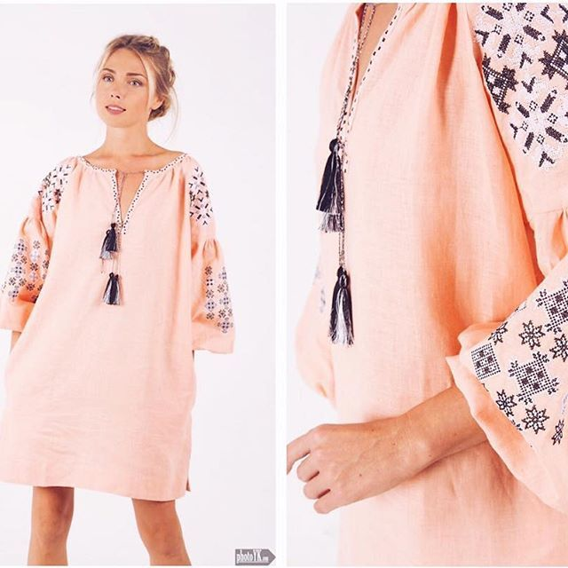"Our light peach colored tunic ""Charm of Life""✨…"