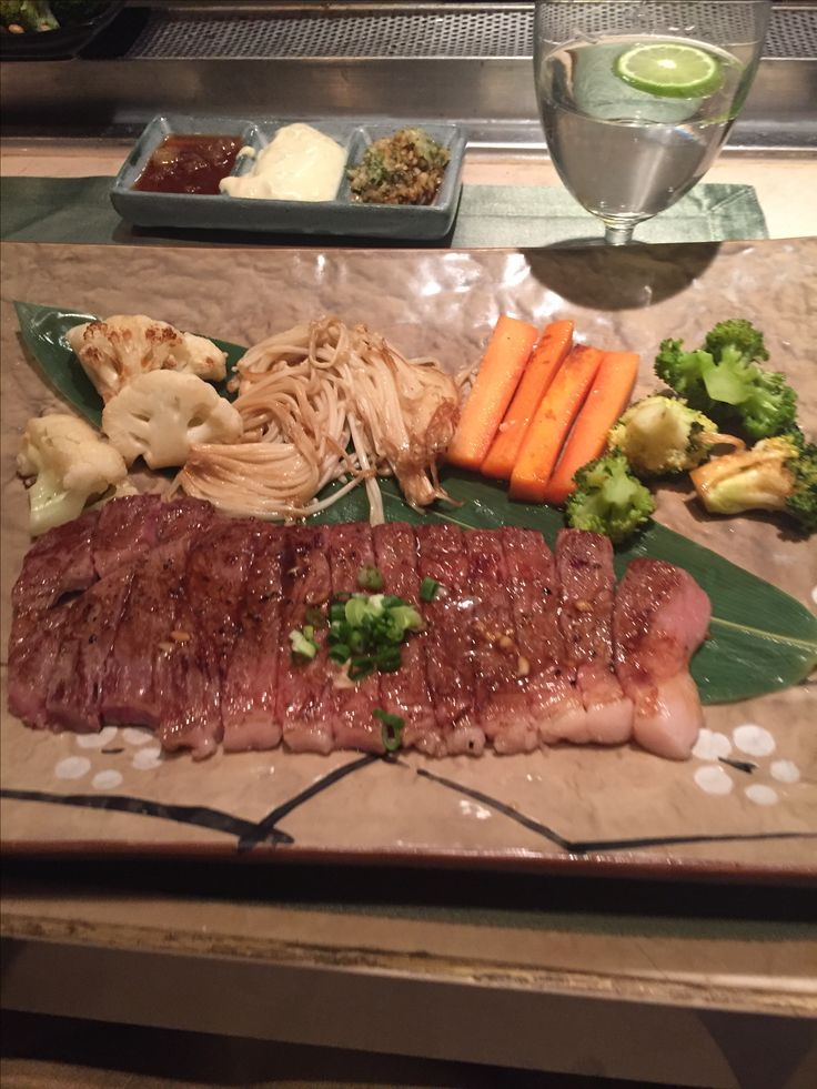 Bœuf de kobe #food #japnese #thailande #vegetable #tepaniaki #banyantree #bangkok