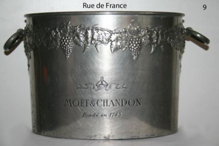ANTIQUE - VINTAGE FRENCH MOET & CHANDON BIG CHAMPAGNE BUCKET