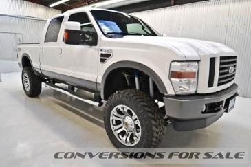 2008 Ford F250 Diesel Crew Cab FX4 Lifted Truck