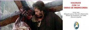 Vía Crucis con 14 obras de misericordia
