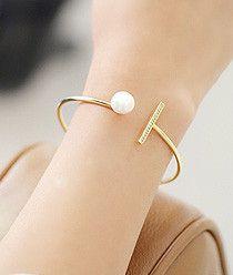 Stick & Pearl Bracelet