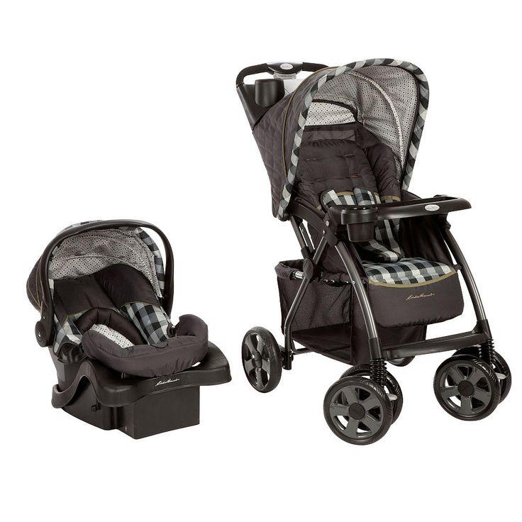 eddie bauer trailmaker travel system stroller evergreen eddie bauer babies r us baby. Black Bedroom Furniture Sets. Home Design Ideas