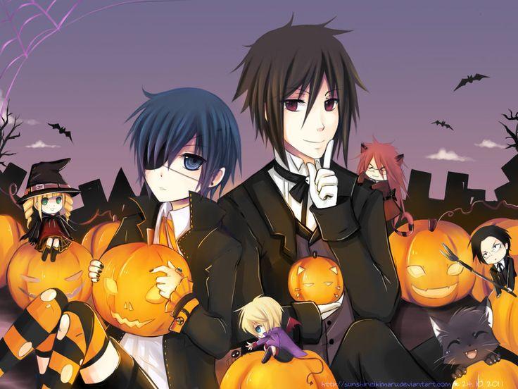 11 best black butler Halloween images on Pinterest | Anime ...