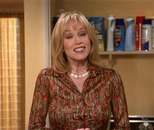 Midge Pinciotti is Donna's mother on That 70's show. She is the stereo typical dumb blonde. She has no common sense and is also shown in a sexual manner most of the time. Her character is also suggestive that women are not smart.