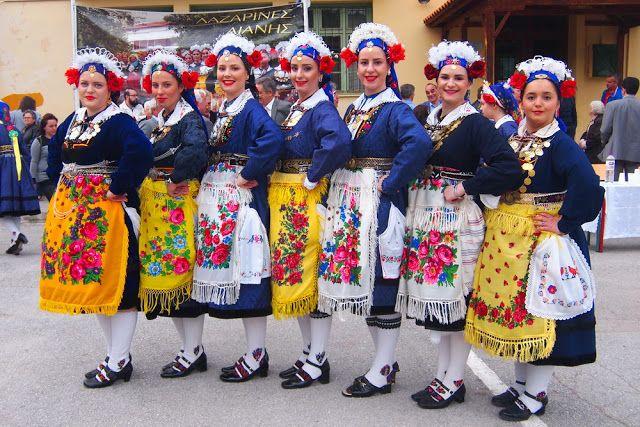 """Ο Τρανός χορός """"Τσιντζιρό"""" από τις Λαζαρίνες της Αιανής 2016"""