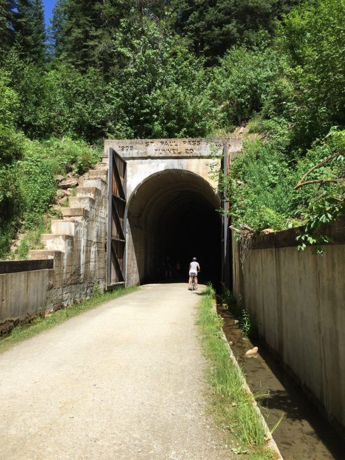 This Amazing Trail In Montana Takes You Through An Abandoned Train Tunnel
