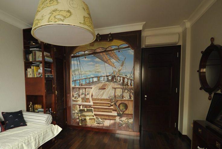 Wandmalerei im Kinderzimmer: 35 verspielte Einrichtungsideen