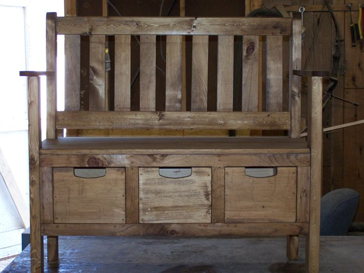 deacon bench | wood working | Pinterest | Deacons bench, Bench and House projects