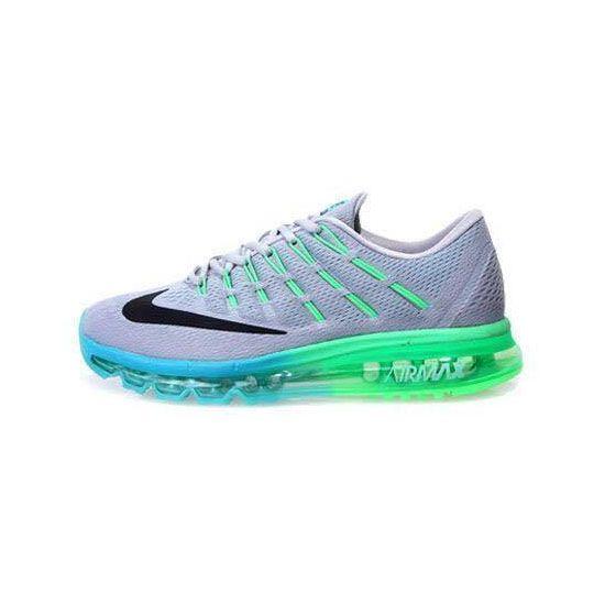 Men's Nike Air Max 2016 Grey Green