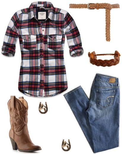 Fashion inspiration: Frontierland: Cowgirl Boots, Country Concerts Outfits, Fashion, Westerns, Flannels Shirts, Style, Country Girls, Cowboys Boots, T Shirts