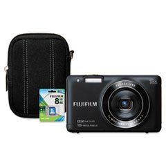Fuji FinePix JX680 Digital Camera Bundle, 16MP (FUJ600012710) Category: Standard Digital Cameras. Film/camera_Type - Digital. Image_Sensor_Megapixel - 16MP. Focus/zoom - 7.2x Digital Zoom. Exposures - Approx. 230 shots per battery charge.