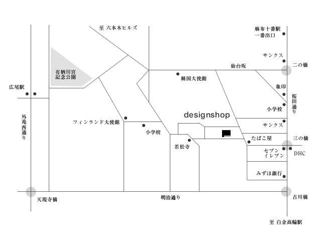 designshop map|デザインショップ マップ 地図