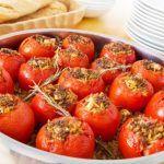 Rosii umplute cu carne si ciuperci