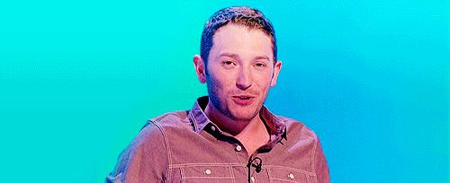 When he tried to be cool. Nope, just adoreble   21 Times Jon Richardson Was The Cutest Man In Britain