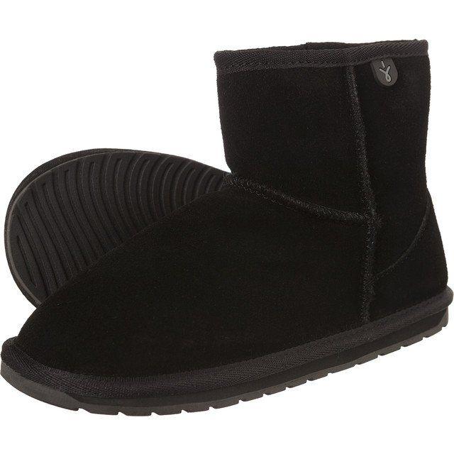 Sniegowce Dla Dzieci Emuaustralia Emu Australia Czarne Wallaby Mini Black Ugg Boots Boots Uggs