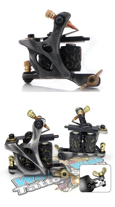 Tattoo Machines and Parts: Damascus Series Titan Steel (Liner) 8-Wrap Coil Tattoo Machine Steel Supply BUY IT NOW ONLY: $69.99