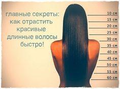Как отрастить длинные волосы быстро?