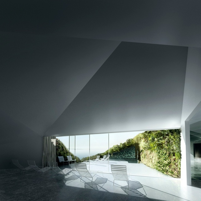 floating gardens - anne holtrop: Floating Gardens, Geometric Roof, Studios Noach, Anne Holtrop, Hot View, Holtrop Hot, Architecture Boards, Architecture Models, Architecture Style