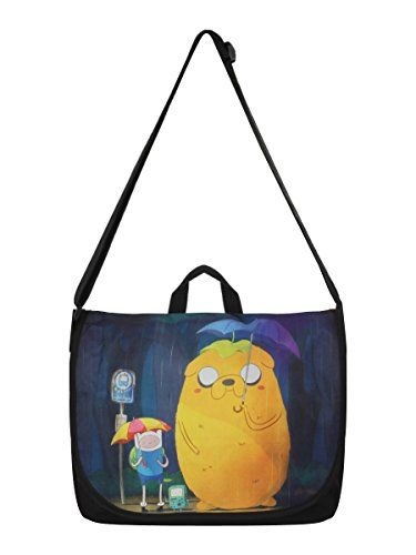 Bioworld - Sac Besace - Adventure Time - Finn & Jake in Totoro Style - 8718526038590 @ niftywarehouse.com #NiftyWarehouse #AdventureTime #TVShow #Cartoon #Show #CartoonNetwork