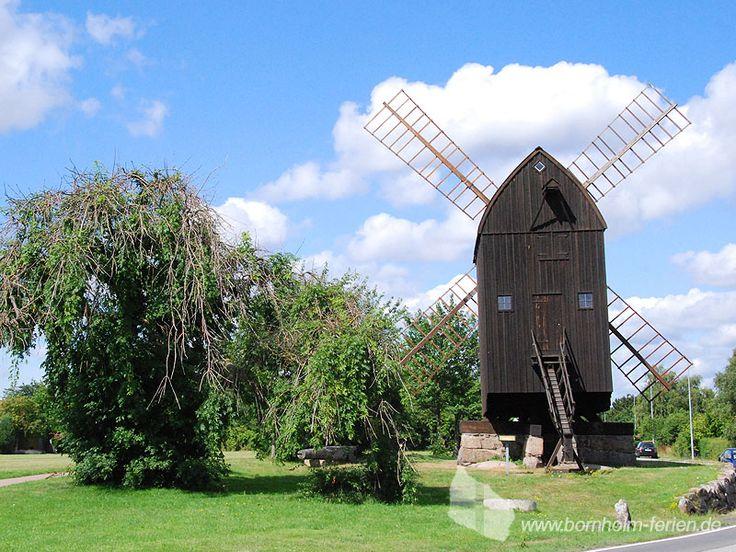 Windmühle Bech Mølle in Svaneke, Ostküste Insel Bornholm #windmuehle #svaneke #bornholm #daenemark