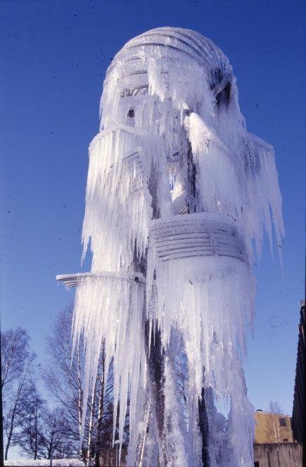 Carl Nesjar, (Sculpture in front of Norwegian University of Life Sciences Oslo), 1970
