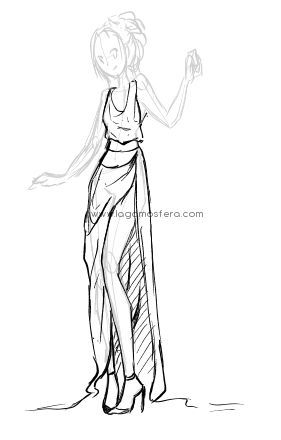 dibujo de ropa anime - Buscar con Google