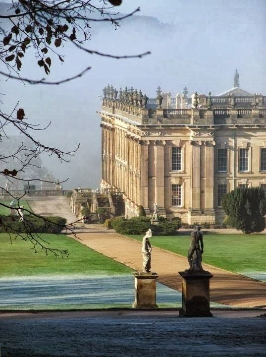Chatsworth House, Bakewell, Derbyshire, England