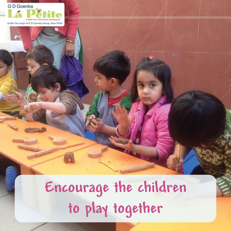 #Encourage your child to play with other children. This helps him to learn the value of sharing and friendship. smile emoticon #ParentingTip