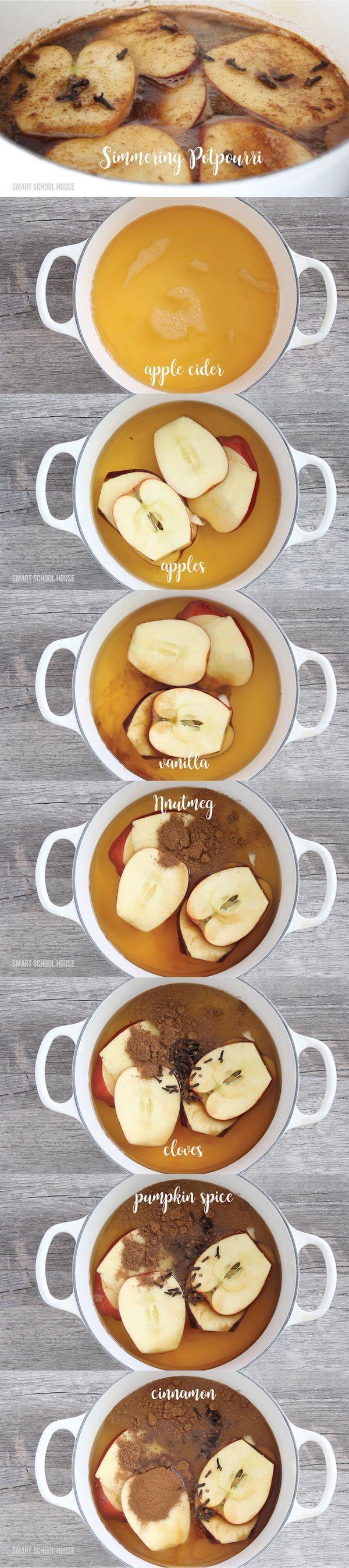 Simmering Potpourri recipe.
