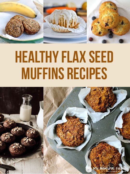 10 Healthy Flax Seed Muffins Recipes Be sure to check out our blog post on why Flaxseed is good for you: http://learningfoundations.org/?p=1445