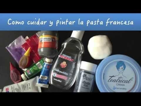 Como cuidar y pintar tu Pasta Francesa (Porcelana Fría)