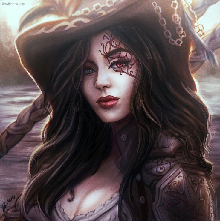 Pirate Mina by ArtOfRivana