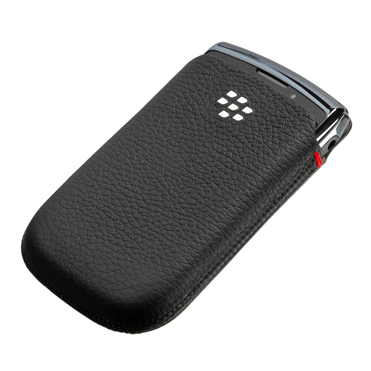 BlackBerry Leather Pocket Black