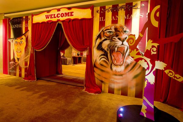 Vintage Circus Poster Possible Prom Idea 2013