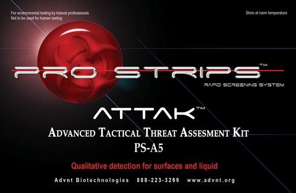 Pro Strips ATTAK (Advanced Tactical Threat Assessment Kit - sample threat assessment